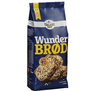 BAUCKHOF Bio Brotbackmischung Wunderbrot, glutenfrei 600g