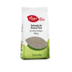 EL GRANERO Feine Bio-Haferkleie, 500 g
