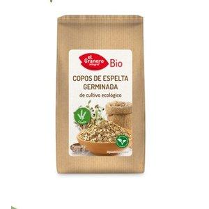 EL GRANERO Copos de espelta germinada Bio, 400 g