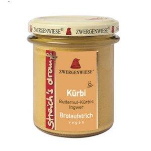 ZWERGENWIESE Pflanzlicher Brotaufstrich mit Butternut-Kürbis un Ingwer, 160 g