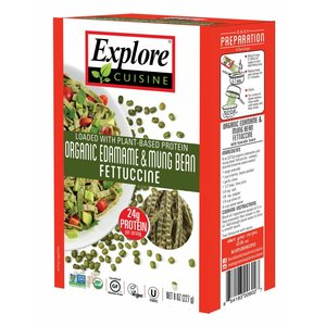 EXPLORE CUISINE Fetuchinis Edamame Proteine und Mungobohnen, 200 g