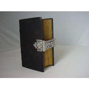 Kerkboekje met fraai zilveren slot, 1870