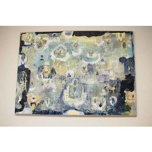 "Schilderij: ""The Enlightment of Buddha"" 130x170"