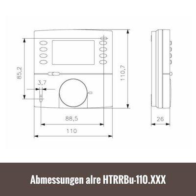 ALRE Fußbodentemperaturregler digital HTRRBu-110.021 inkl. Fernfühler