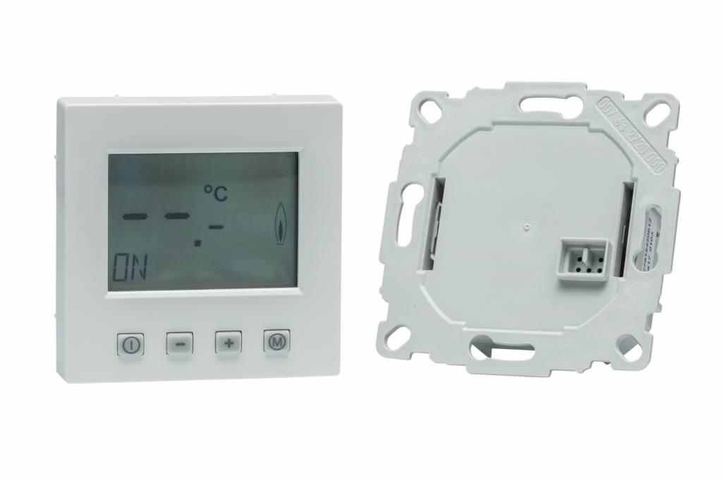 raumthermostat digital mit timer f r busch j ger future rahmen pefra elektrogro handel. Black Bedroom Furniture Sets. Home Design Ideas