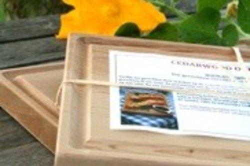 Cedarhouten Ovenplank groot