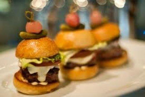 Wagyu Beef Mini Wagyu hamburgers