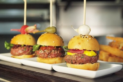 Mini BeefEx hamburgers