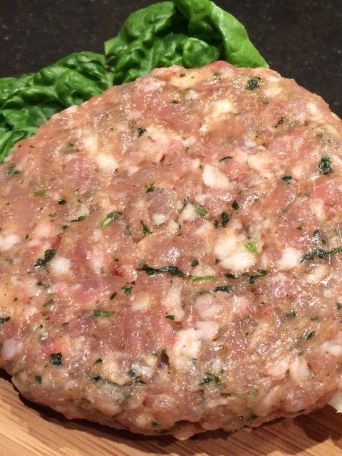 Aaibaarvlees Kip burgers ca. 160 gram