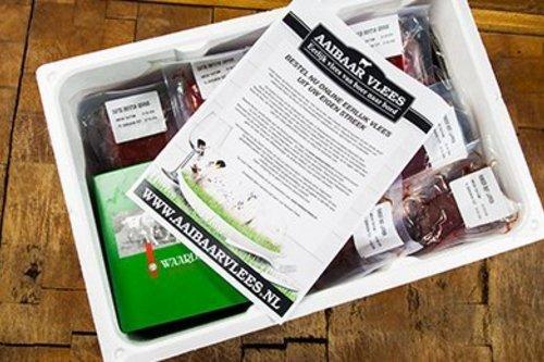 Aaibaarvlees Waards rund box Large - ca. 10 kg