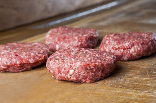 Aaibaar Vlees Hamburger (4 x 150 gram) pakket