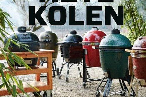 Hete kolen - grillen en koken met een kamado
