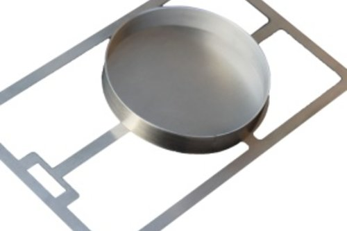 Beefer ® Original Grillplaat voor hamburger met ring