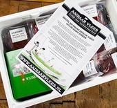 Aaibaarvlees Waardse boerderij kip box - ca. 8 kg