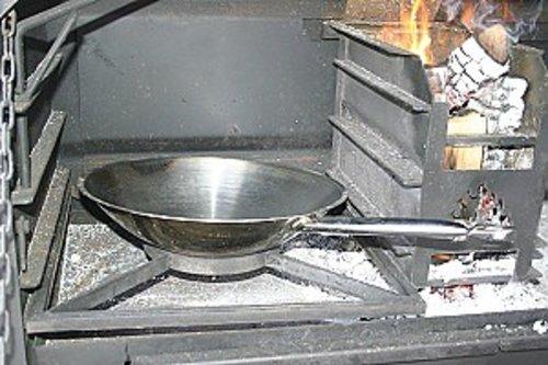 Home Fires Braai Wok met wokrooster