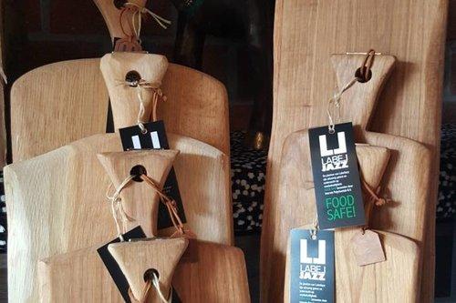 Label Jazz Eikenhouten serveerplank
