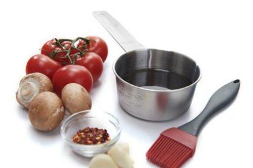 Grill Pro RVS sauspannetje met kwast