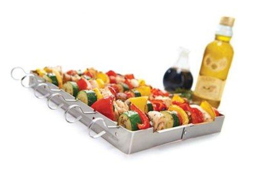 Grill Pro Vleespenhouder / shish kebabset