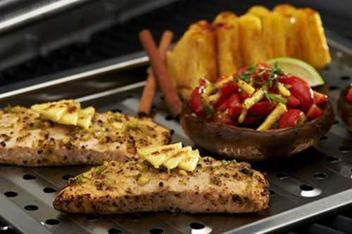Grill Pro Grill topper roestvrij staal