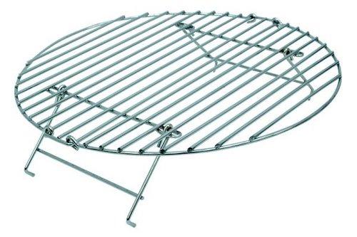 Big Green Egg Folding grill extender (Inklapbaar verhogingsrooster rvs)