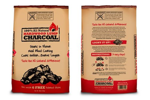 All-natural Hardwood Lump Charcoal (hardhout houtskool)
