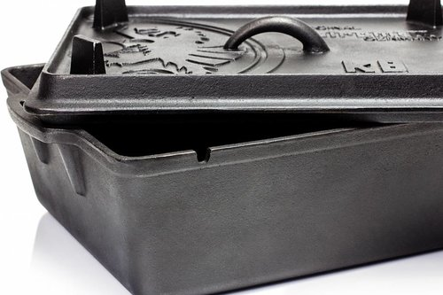 Petromax Dutch oven vierkant met grill deksel