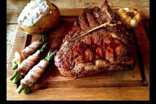 BeefEx Black Angus Beef - Graan gevoerd T Bone steak