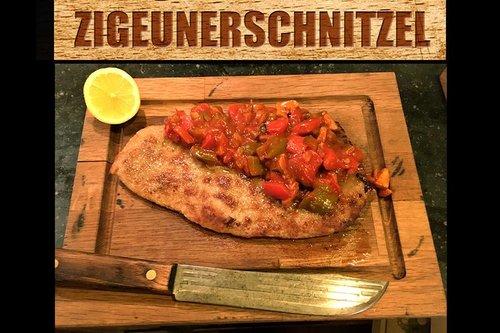 Waards varken Schnitzel gepaneerd - bovenbil