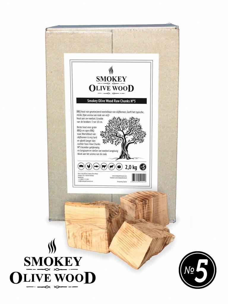 Smokey Olive Wood Smokey Olive Wood Raw Chunks Nº5