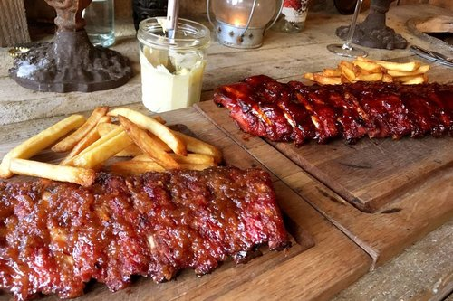 Hollands varken Spare ribs - Breed