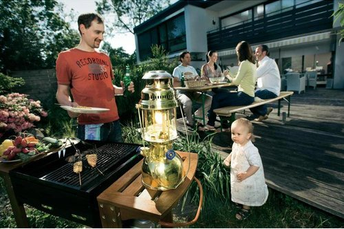 Petromax HK500 lamp electro  messing