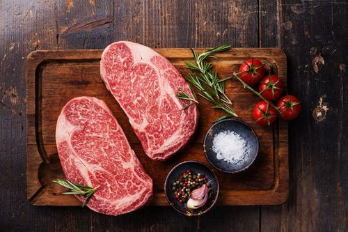 Wagyu Beef Rib eye steak