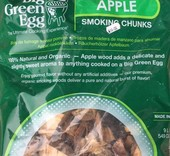 Big Green Egg Apple wood chunks of appel houtbrokken