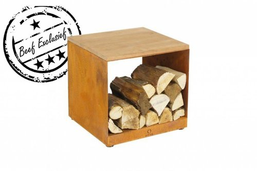 OFYR OFYR Wood Storage Hocker