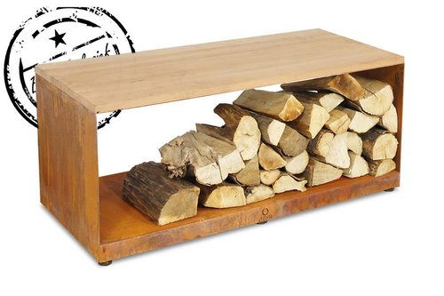 OFYR OFYR Wood Storage bench