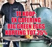 Big Green Egg Gebruikte Big green Egg - Ex catering