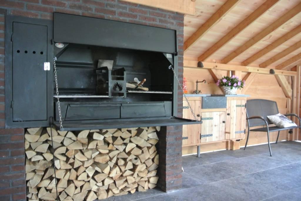 Home Fires Braai Supreme de luxe 1500 spitbraai inbouw