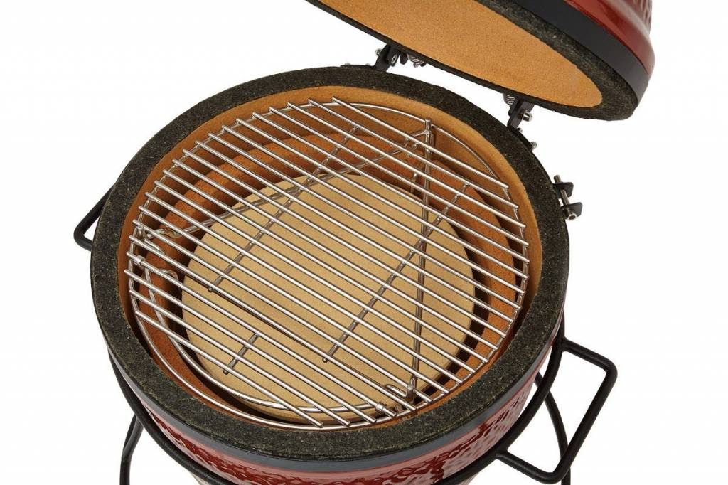 Kamado Joe Barbecue Hitte deflector steen Junior Joe
