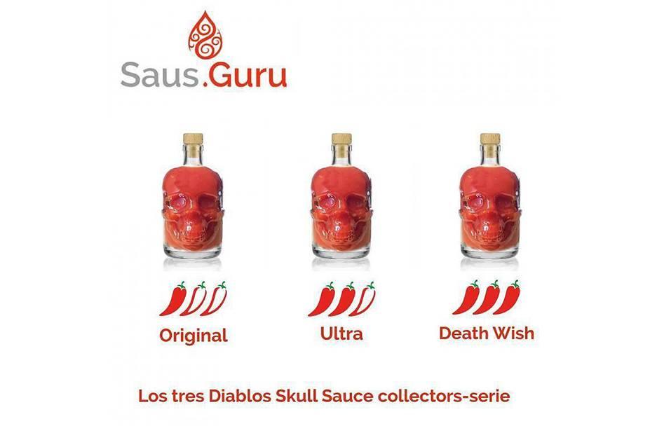 Saus.Guru Skull Sauce - Ultra Hot