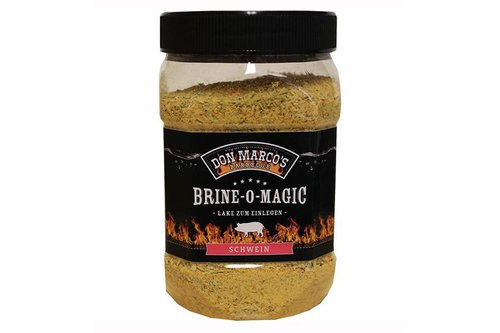 Don Marco's Barbecue Brine-o-magic Varken