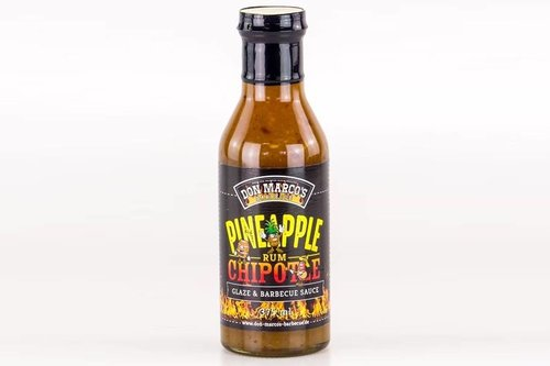 Don Marco's Barbecue Pineapple / Chipotle / Rum glaze & saus