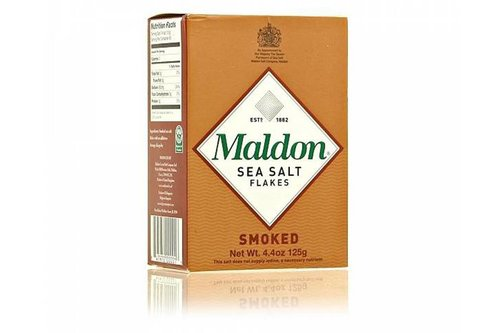 Maldon Sea Salt Flakes Smoked ca 125 gram