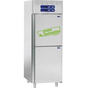 Diamond Ventilated refrigerator and fish refrigerator 2x350 liters, 2x 1/2 doors GN 2/1 & 1/1