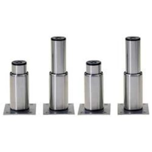 Diamond Set aus 4 Beinen aus Edelstahl Konstruktion GN 1/4 - verstellbar