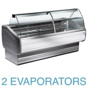 Diamond Lada chłodnicza - zaokrąglone szkło | +4°+6° | 1500x1060x1270