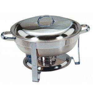 Saro MINI Chafing Dish - Rond 4 liter