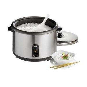 Saro Elektryczny garnek do ryżu z funkcją utrzymywania temperatury stal nierdzewna | 4,2 L | 230 V