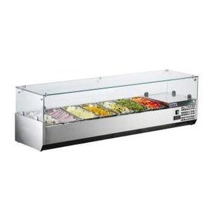 Saro Refrigerated Table Top Displays METTE VRX 1600