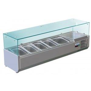 Saro Aufsatzkühlvitrine Modell METTE VRX 1400