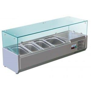 Saro Refrigerated Table Top Displays METTE VRX 1200